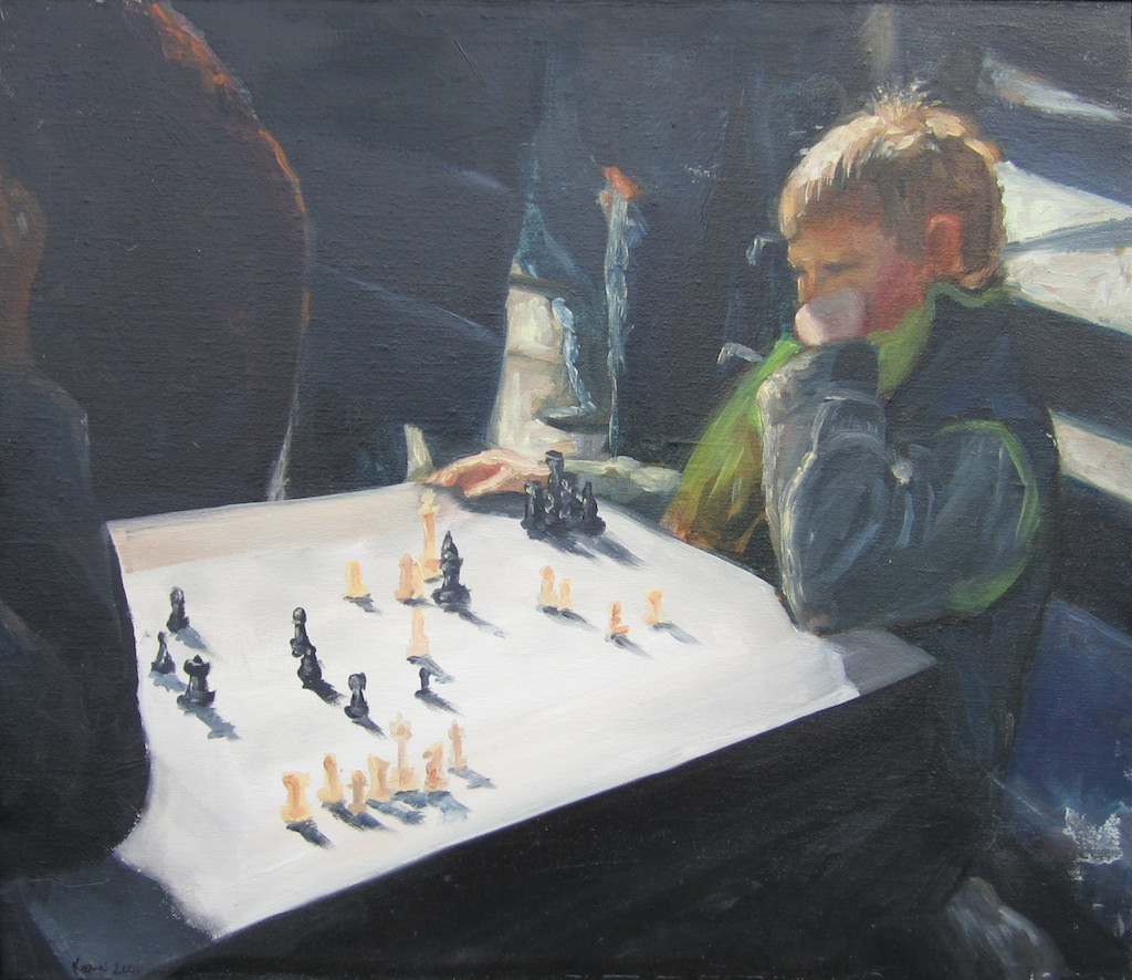 photo:  Boy Playing Chess